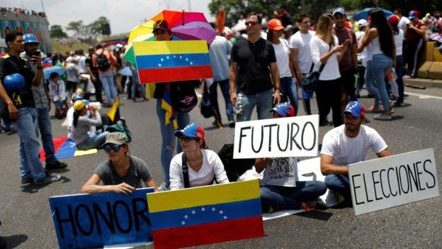 Oposición y chavismo se miden nuevamente en las calles [FOTOS — Venezuela