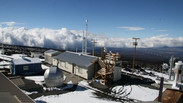 air sampling station