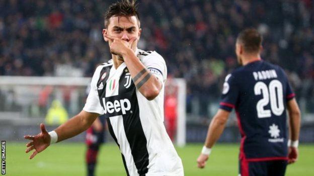 Mshambuliaji wa Juventus na Argentina Paulo Dybala, mwenye umri wa miaka 25, anataka malipo ya pauni 350,000