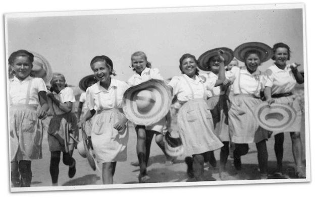 Jóvenes polacas en León