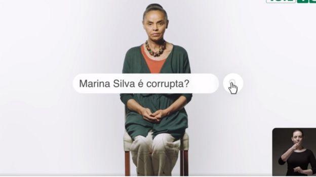 Propaganda de Marina Silva na TV