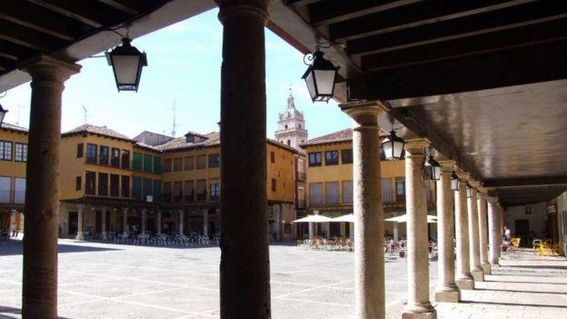 Plaza de Tordesilhas
