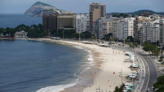 Copacabana vazia