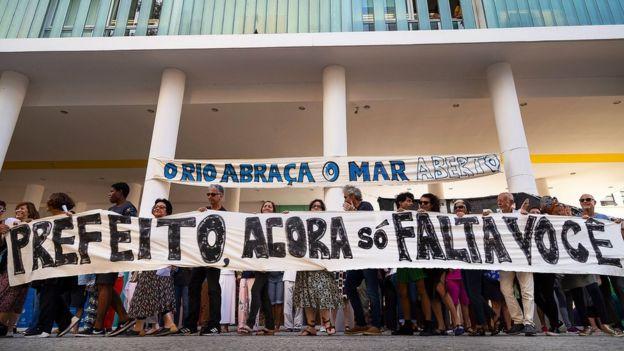 Protesto do MAR Vive