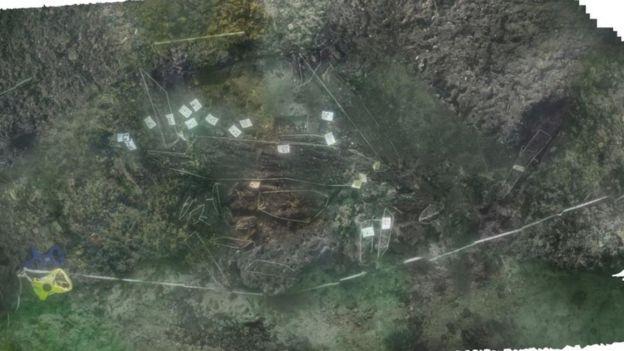 El hallazgo fue escaneado digitalmente. Foto: Maritime Archaeology Trust
