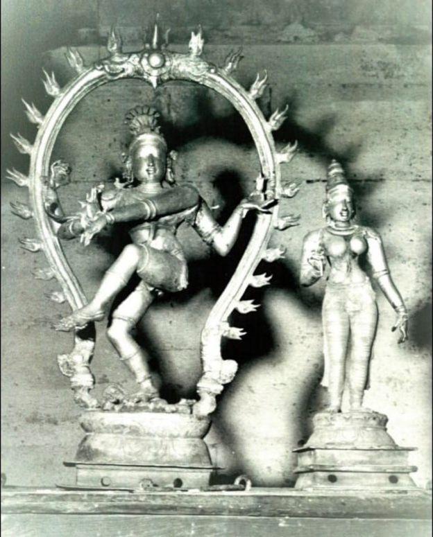கல்லிடைக்குறிச்சியிலிருந்து திருடப்பட்டு, மீட்கப்பட்ட நடராஜர் சிலை