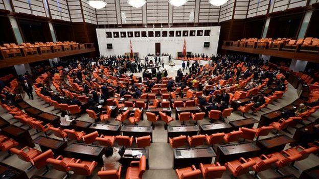 Tasarı mecliste kabul edilerek yasalaştı