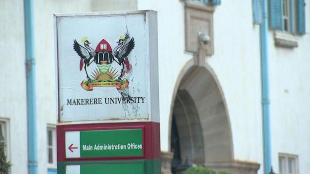 Makerere university sign
