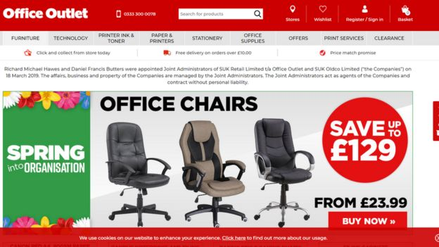 What Time Does Staples Open Today >> Former Staples Chain Office Outlet In Administration Bbc News
