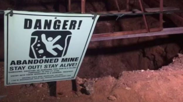 Man 'fought snakes' to survive after falling down 100ft mineshaft