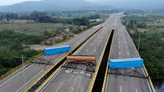 Puente Las Tienditas.