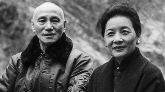 Chiang Kai-Shek and Soong Meiling