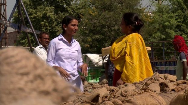 ddc76376d0 100 Women 2015  The small band of pioneering women farmers in India ...