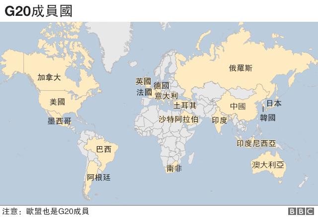 G20成员国