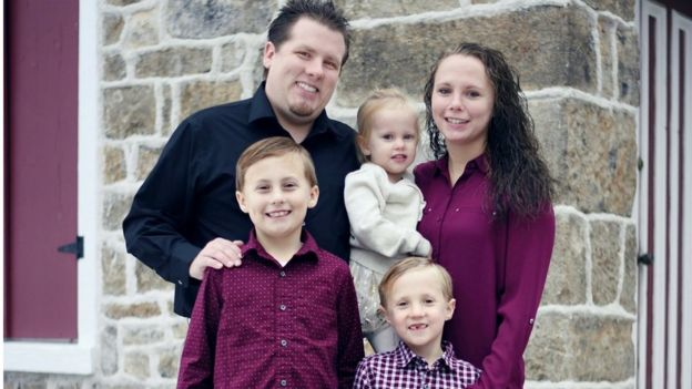 Heather e a família