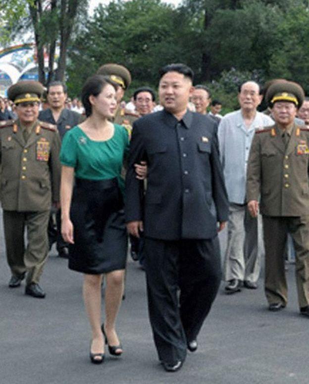 Ли Соль Чжу с мужем в 2012 году