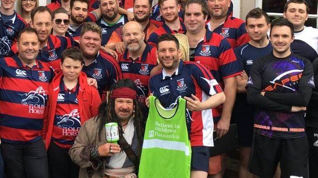 Aylestone Athletic spor kulübü, Caroll için para toplamak adına bir yardım koşusu organize etmişti.