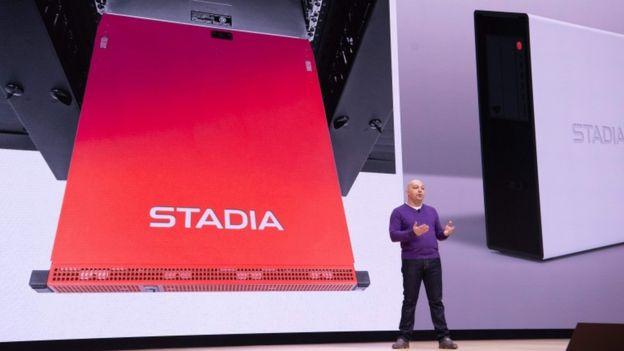 Presentación de Stadia en San Francisco.
