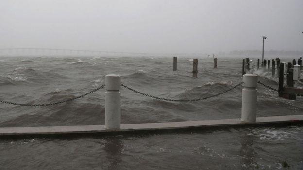 El mar frente a Miami
