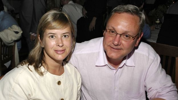 Джилл Дэвис и Эд Конард в 2007 году