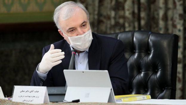 سعید نمکی، وزیر بهداشت ایران
