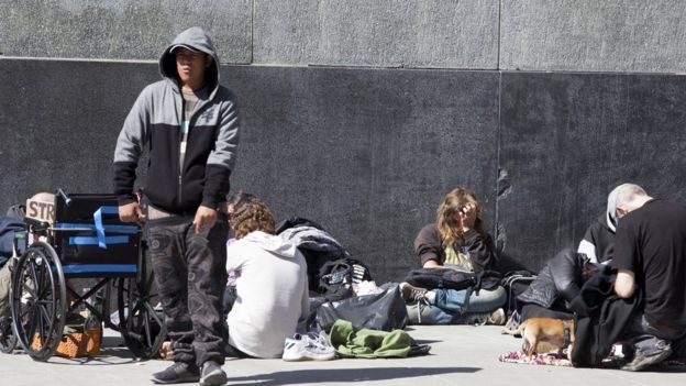 سانفرانسیسکو با مشکل بیخانمانی دست و پنجه نرم میکند