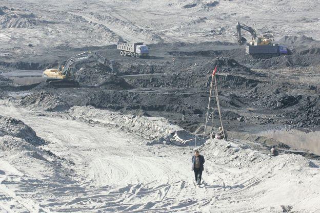 中國陝西是煤炭資源大省。