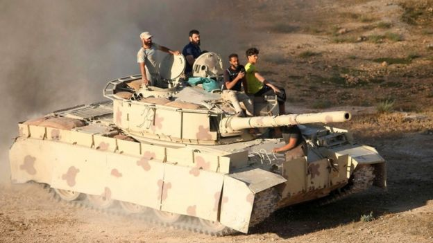 جنگندههای روسیه مواضع پیکارجویان در جنوب غربی سوریه را 'بمباران کردند'
