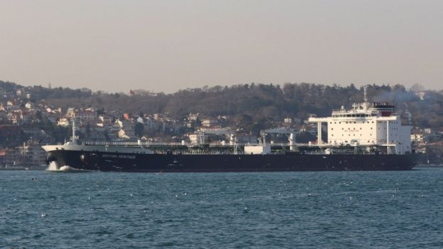 British Heritage tanker