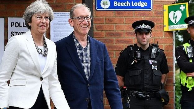 Theresa và Philip May