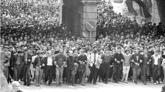 Похороны погибших 9 апреля