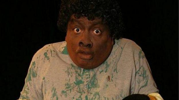 El negro mamá