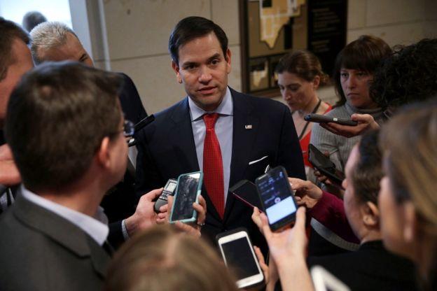 Marco Rubio expresó sus dudas sobre lo sucedido.