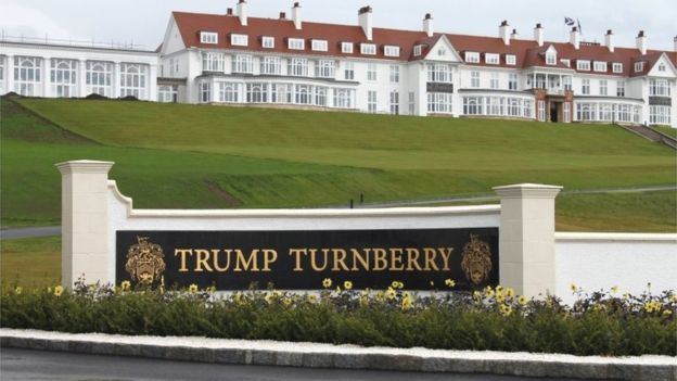 Trump Turnberry will no longer get business rates relief