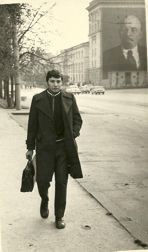 Эвик Либерман в Кишиневе, 1975 г
