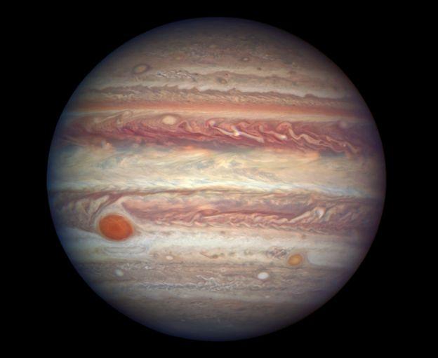 Una foto de Júpiter