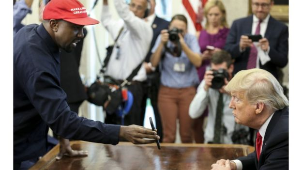 Kanye na Trump