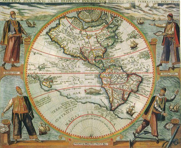 Mapa del Pacifico