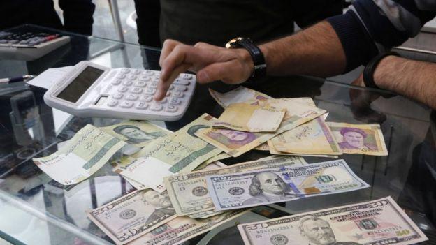 Доллары в Иране - дефицит