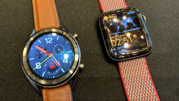 Watch GT and Apple Watch