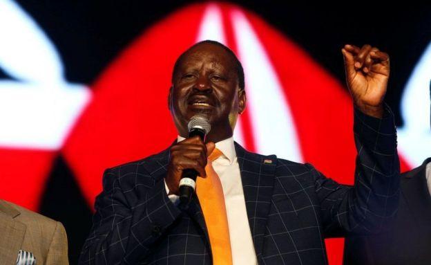 Raila Odinga aitisha maandamano siku ya uchaguzi Kenya