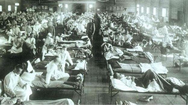 1918 İspanyol gribi salgını