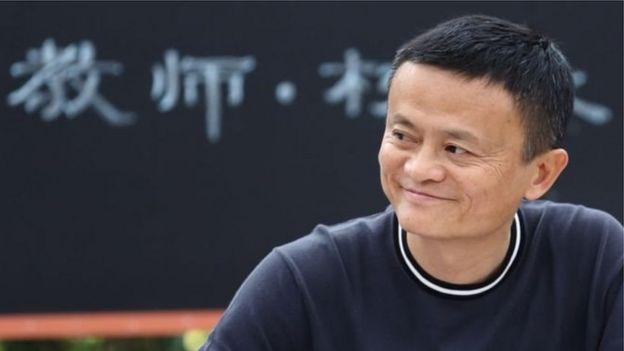 Jack Ma, người sáng lập hãng Alibaba, nay là người giầu thứ ba ở Trung Quốc