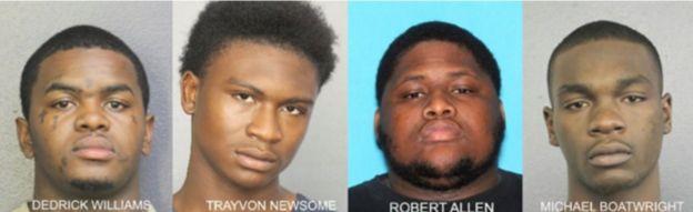 XXXTentacion death: Four men charged with rapper's murder