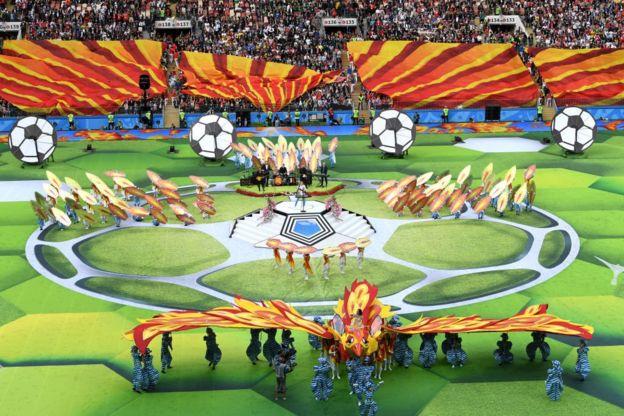 Imagen de la ceremonia de apertura.