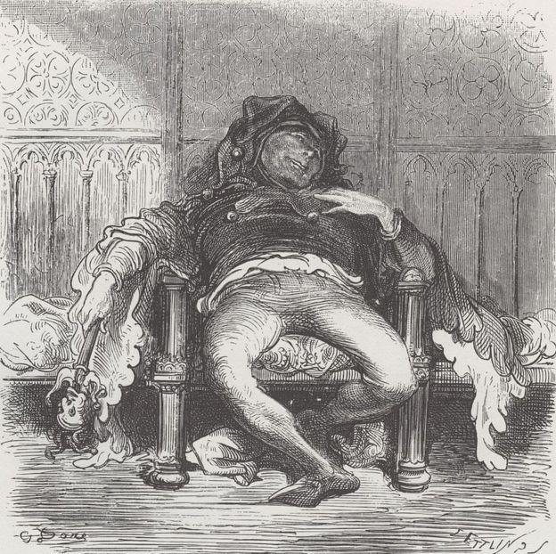 Трибуле. Иллюстрация Гюстава Доре