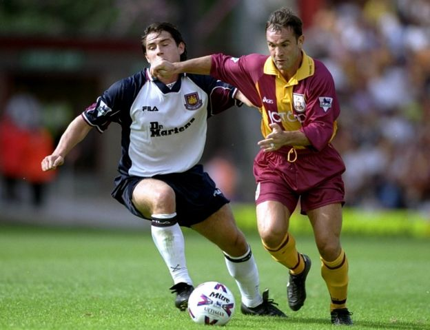 Peter Beagrie and Frank Lampard