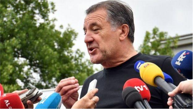 L'homme d'affaires Zdravko Mamic est l'un des principaux dirigeants du football en Croatie.