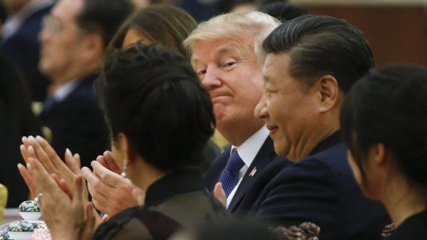 President Donald Trump and China