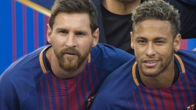 Lionel Messi na Neymar